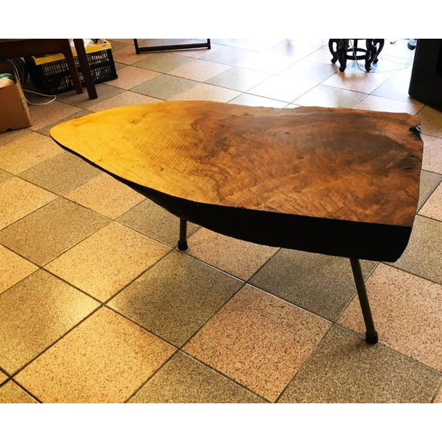 Big Tree Table by Carl Aubock, 1950s For Sale - Image 6 of 11