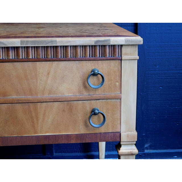 Wood 1960s Classic Wooden End Table For Sale - Image 7 of 11