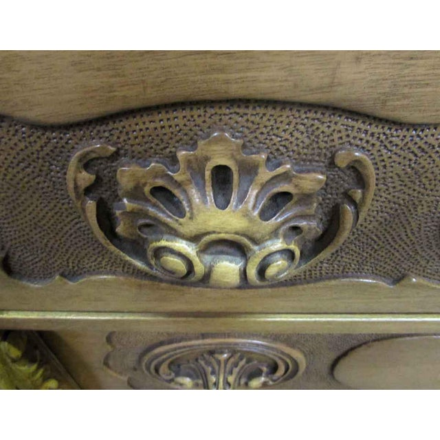 French Antique Carved French Sideboard For Sale - Image 3 of 11