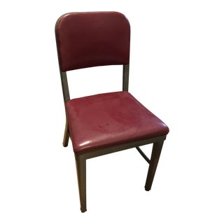 Royal Manufacturing Red Vinyl Chair