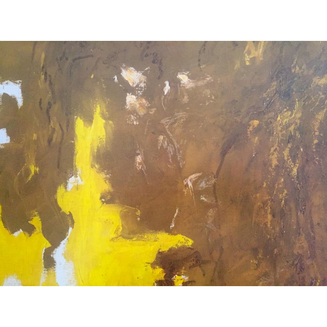 """Paper Clyfford Still Abstract Expressionst Offset Lithograph Print Museum Poster """" Ph - 321 """" 1948 For Sale - Image 7 of 13"""
