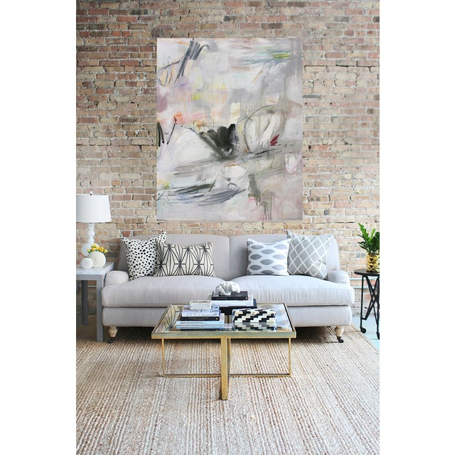 "Large Abstract Oil Painting by Trixie Pitts ""Colorado"" - Image 2 of 3"