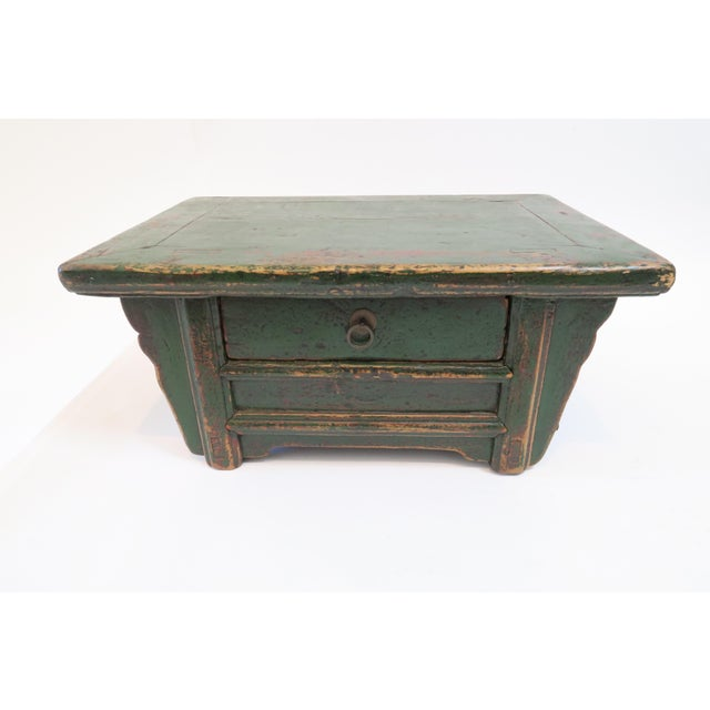 Japanese Low Writing Desk - Image 2 of 7