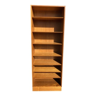 Mid Century Danish Bookcase by Poul Hundevad For Sale