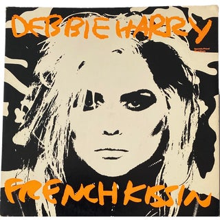 1980s Original Andy Warhol Vinyl Art Cover (Debbie Harry) For Sale