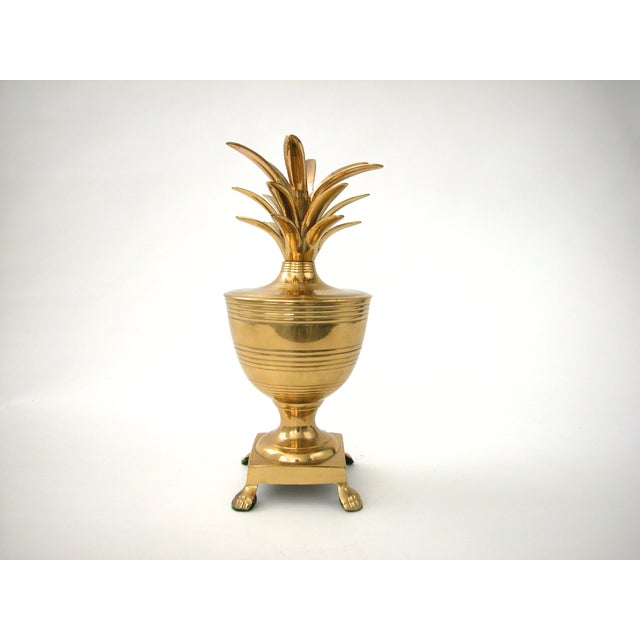 Brass Pineapple Container - Image 2 of 7