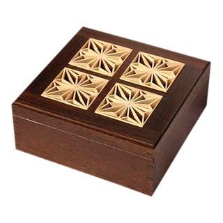 Handcrafted Kumiko Tea Box