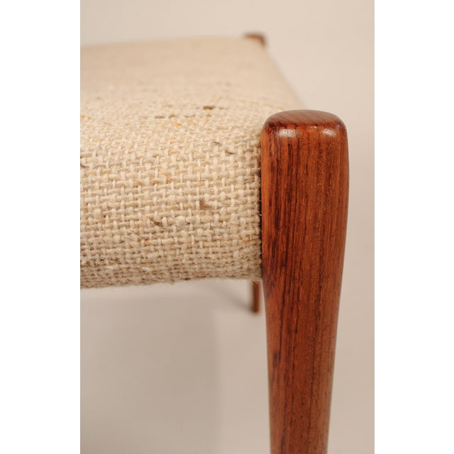 1960s Set of 10 Dining Chairs in East Indian Rosewood by Niels Otto Moller For Sale - Image 5 of 10