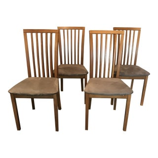 Skovby Danish Modern Dining Chairs - Set of 4 For Sale