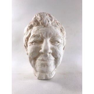 Late 20th Century Signed Ceramic Self Portrait Bust Preview