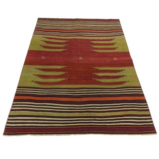 Rug & Relic Vintage Balikesir Kilim | 3'11 X 5'4