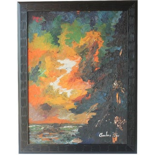 Abstract Landscape by Charles Dix For Sale