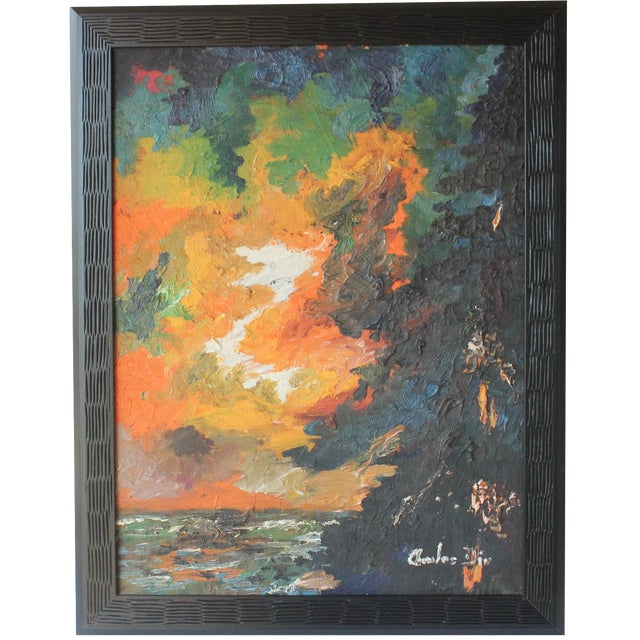 Abstract Landscape by Charles Dix - Image 1 of 6