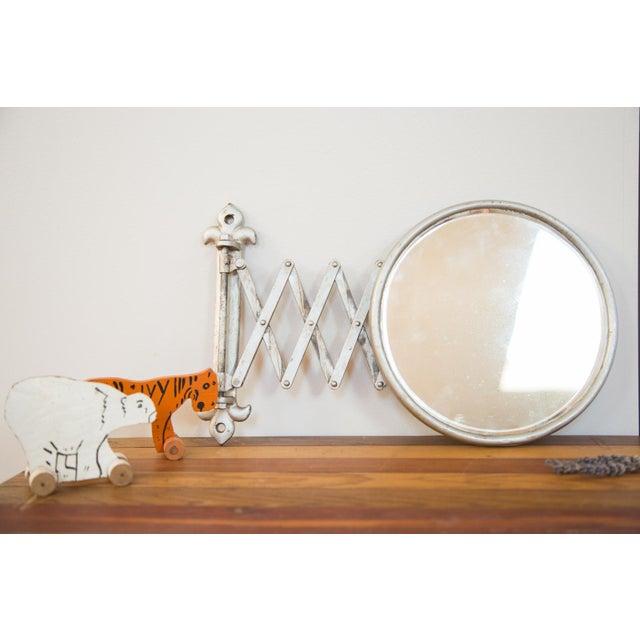 Antique Fleur De Lis Barber Mirror - Image 3 of 11