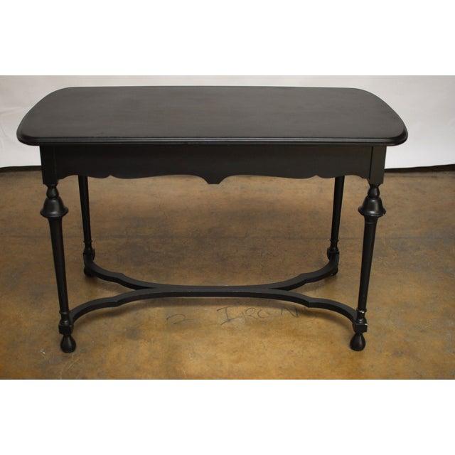Black Antique Ladies Writing Desk - Image 7 of 7