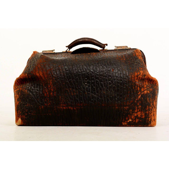 1930s Leather Doctor's Bag For Sale - Image 5 of 10