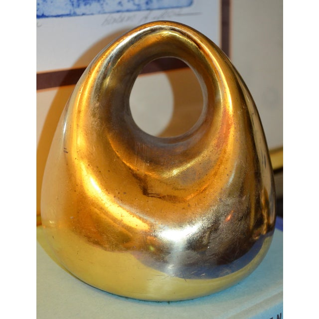 Mid-Century Ben Seibel for Jenfred-Ware Paperweight / Bookend - Image 3 of 6