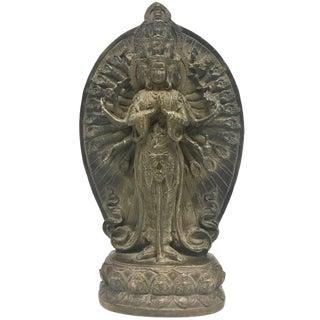 Fine Bronze Thousand-Hand Kwan Yin Statue For Sale