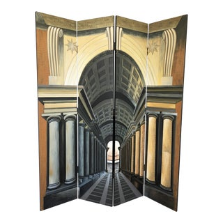 Four-Panel Neo-Classical Screen For Sale
