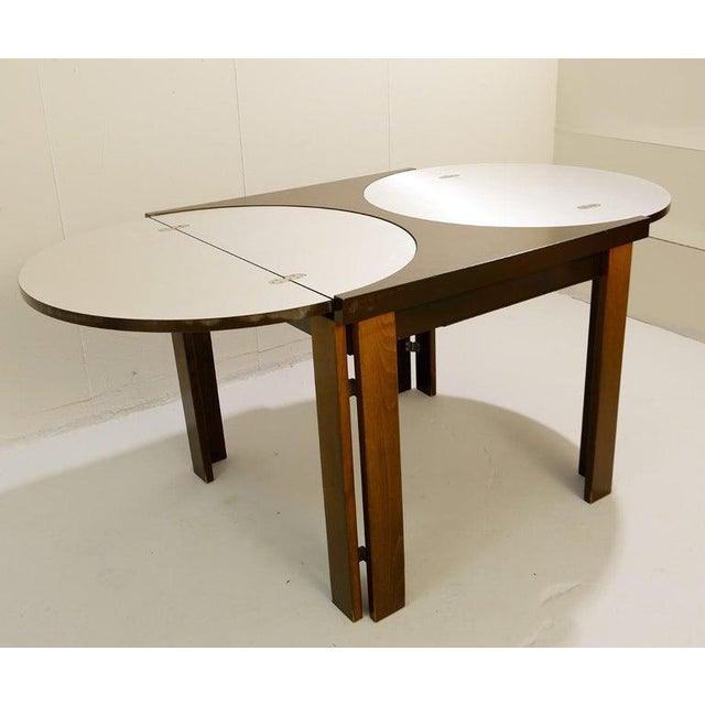Brown Extending Dining Table For Sale - Image 8 of 9