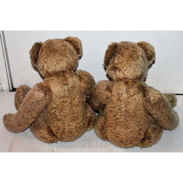 Pair of Folky Teddy Bears Made for Harrods of London - Image 6 of 8
