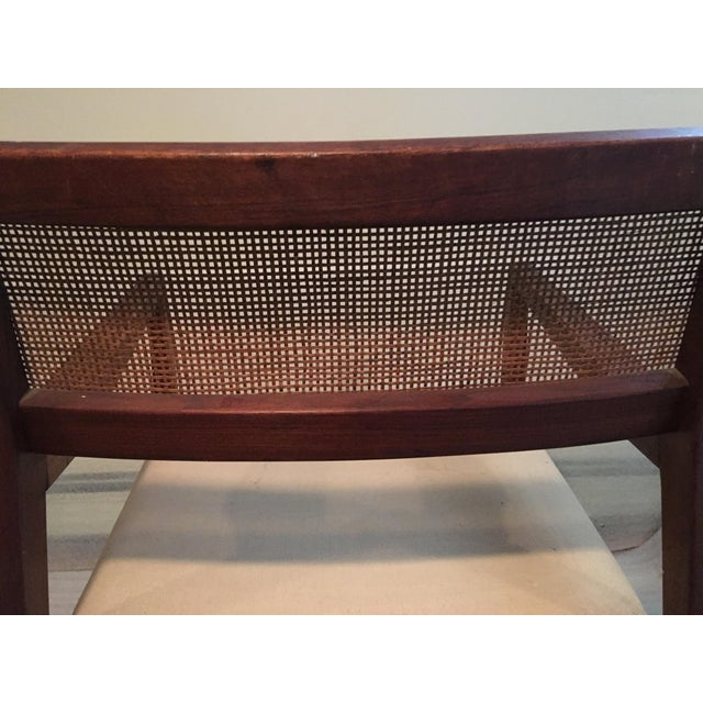 Caning 1960s Vintage Jens Risom 'Playboy' C-140 Side Chair For Sale - Image 7 of 8
