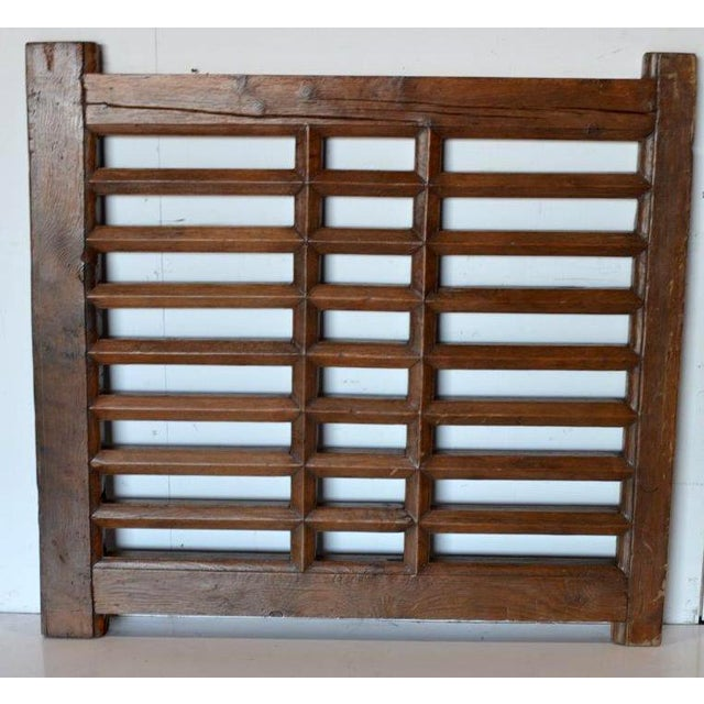 1970s Chinese Wooden Gate/Room Divider For Sale - Image 4 of 8