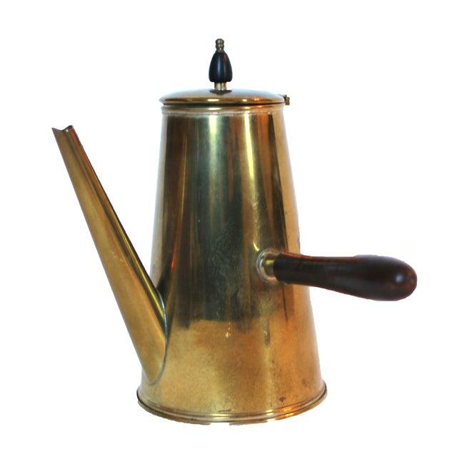Vintage Japanese Brass Tea Set - Image 3 of 4