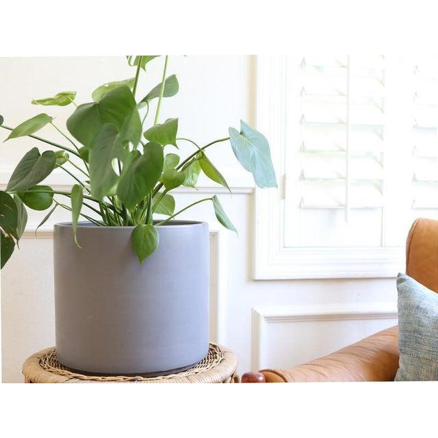 Mid-Century Modern Gainey Ceramics Mid Century Modern Large Gray Planter For Sale - Image 3 of 6