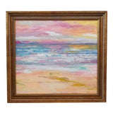 Image of Stunning Impressionist Seascape Painting by Juan Pepe Guzman For Sale