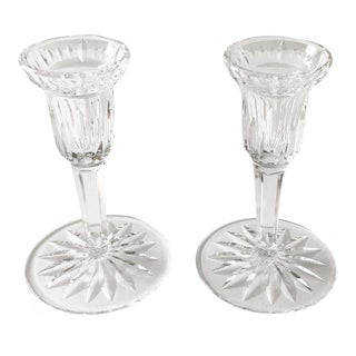 Waterford Carina Candlesticks, Pair For Sale