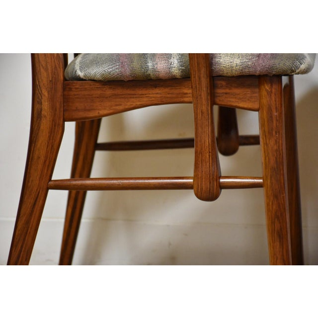 1960s Dining Chairs by Niels Koefoed for Hornslet - Set of 8 For Sale - Image 5 of 12