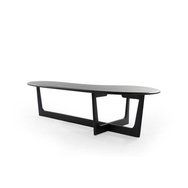 Mid 20th Century Asymmetric Mid-Century Modern Walnut Coffee Table For Sale - Image 5 of 11