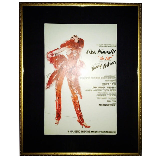 The Act 1977 Broadway Musical Poster - Image 1 of 2