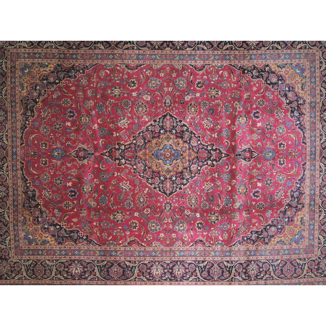 "Leon Banilivi Persian Mashad Carpet - 9'10"" X 13'2"" - Image 3 of 6"