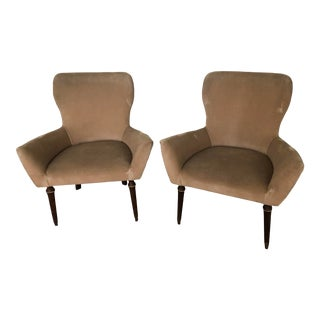 Mid Century Isa Bergamo Osvaldo Borsani Chairs- A Pair For Sale
