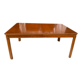 Drexel Parsons Style Dining Table Yorkshire Collection For Sale