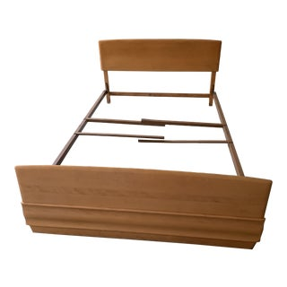 Heywood-Wakefield Sculptura Queen Bedframe For Sale