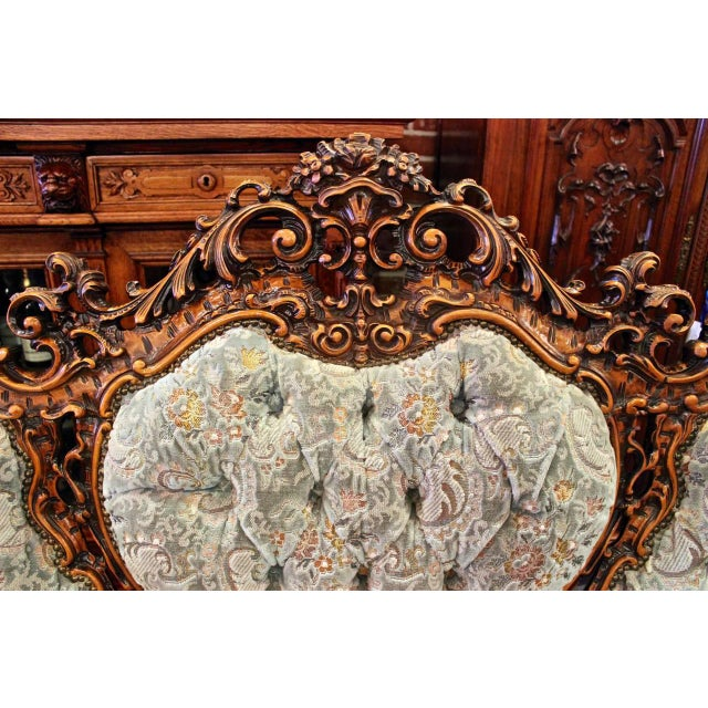 Rococo Parlor Suite - Set of 3 For Sale - Image 5 of 6