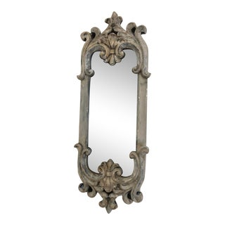 French Style Small Wall Mirror For Sale