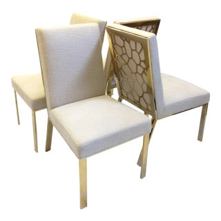 """Caracole """"On Thin Ice"""" Side Chairs - Set of 4 For Sale"""
