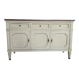 French Provincial Buffet / Sideboard by White Furniture Co. For Sale