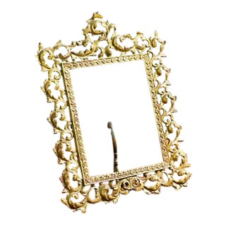 Elegant Golden Picture Frame For Sale