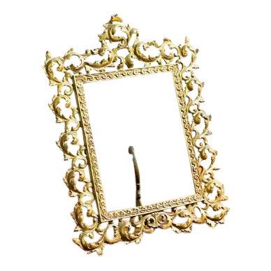Elegant Golden Picture Frame For Sale