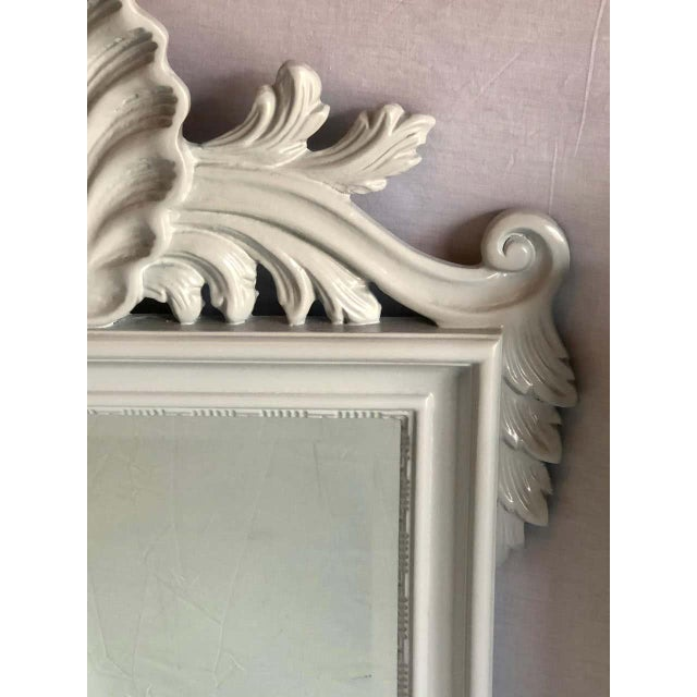 Hollywood Regency Labarge Wall or Console Mirrors, Italian - a Pair For Sale - Image 12 of 13