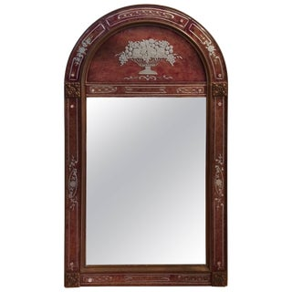 Very Elegant French Art Deco Mirror For Sale