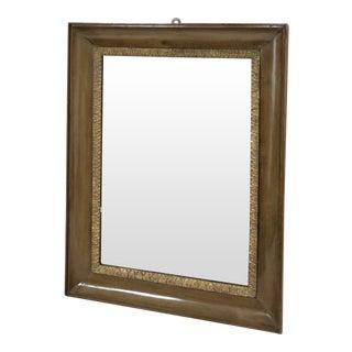 Vintage Framed Scrollwork Mirror For Sale