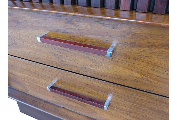 Lane Furniture Rosewood U0026 Walnut Armoire   Image 7 Of 10