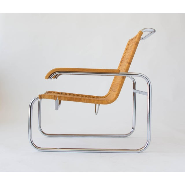 Marcel Breuer for Thonet B35 Rattan Lounge Chair - Image 4 of 7