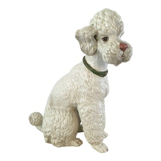 Vintage Italian Life Size Poodle For Sale